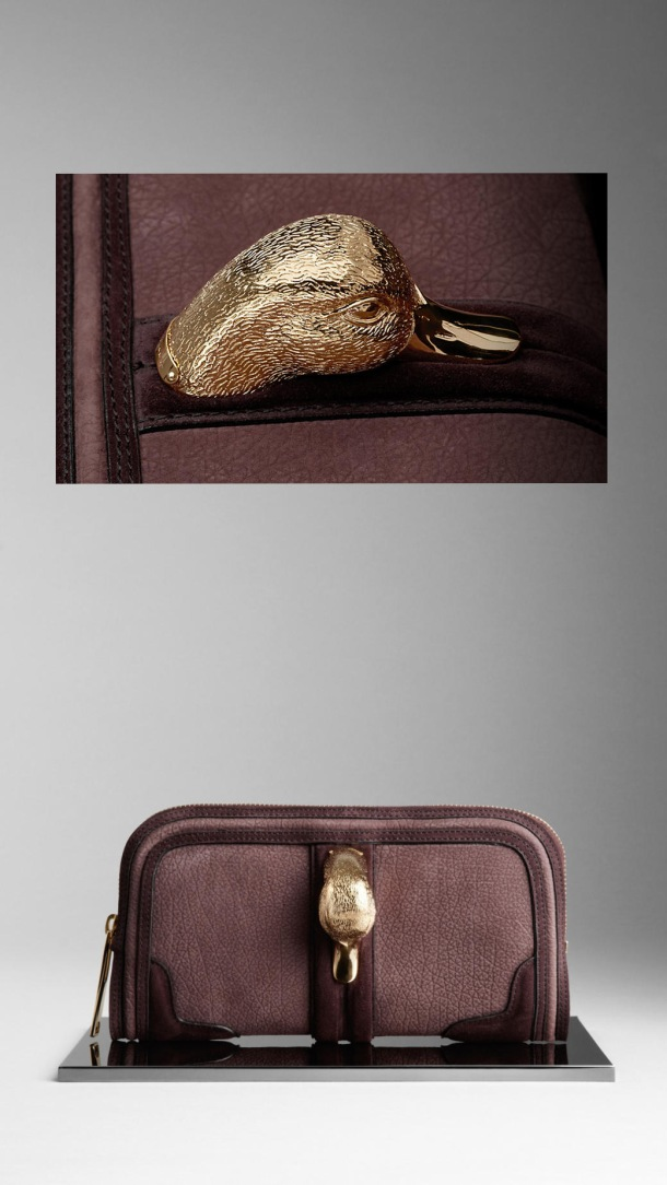 burberry country animal clutch copy