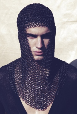Hottie in chain mail