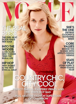 Reese Witherspoon for American VOGUE