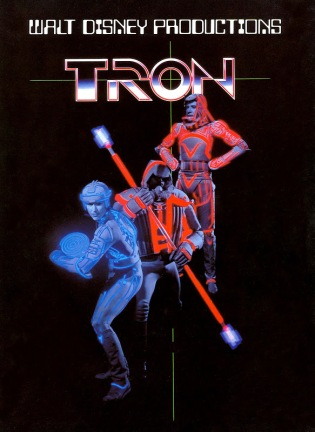 tron 1982 poster